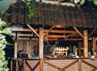 Rustikale Discothek